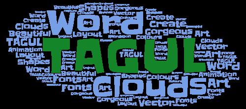 Tagul Word Cloud