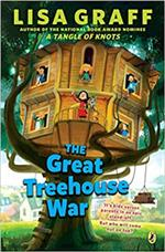 great treehouse war book cover