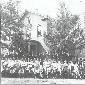 Pierce School 1876