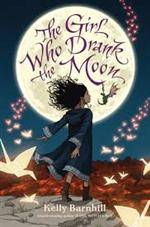 Girl Who Drank the Moon book cover