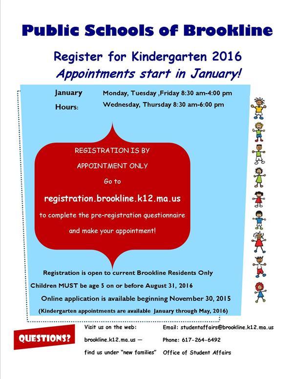 preschool registration process registration kindergarten 701
